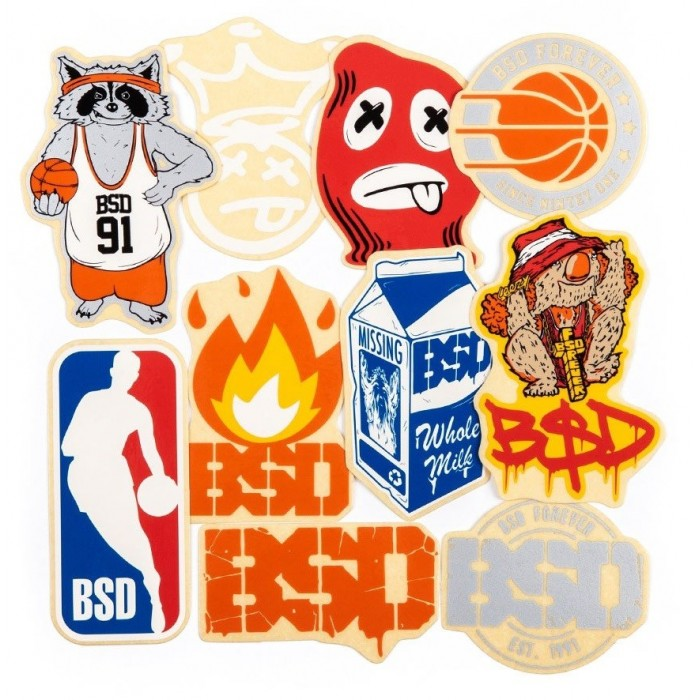 BSD STICKER SET 2018