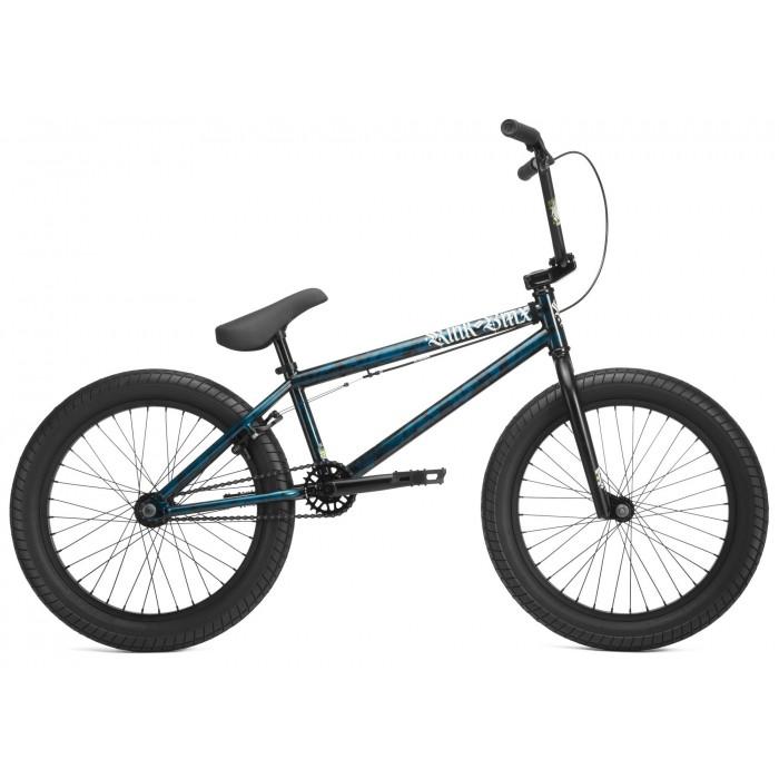 KINK BMX CURB BLUE/BLACK TIE DYE 2019