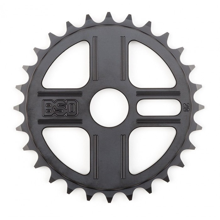 BSD TBT SPROCKET 28T BLACK