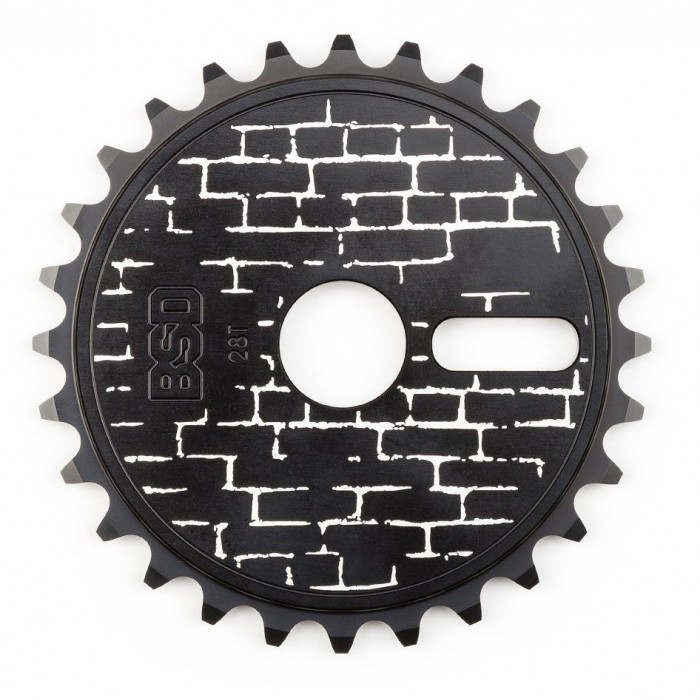 BSD WALLA SPROCKET 28T BLACK