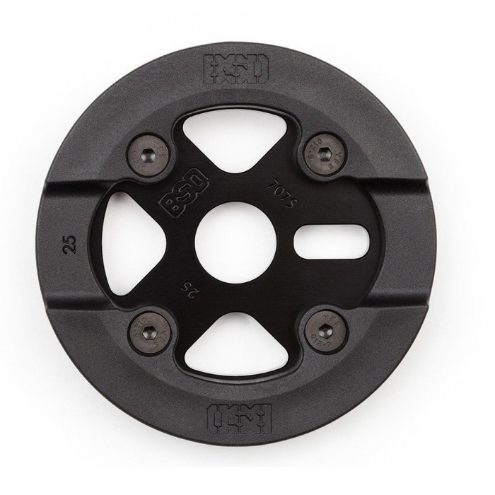 BSD BARRIER GUARD SPROCKET 25T BLACK