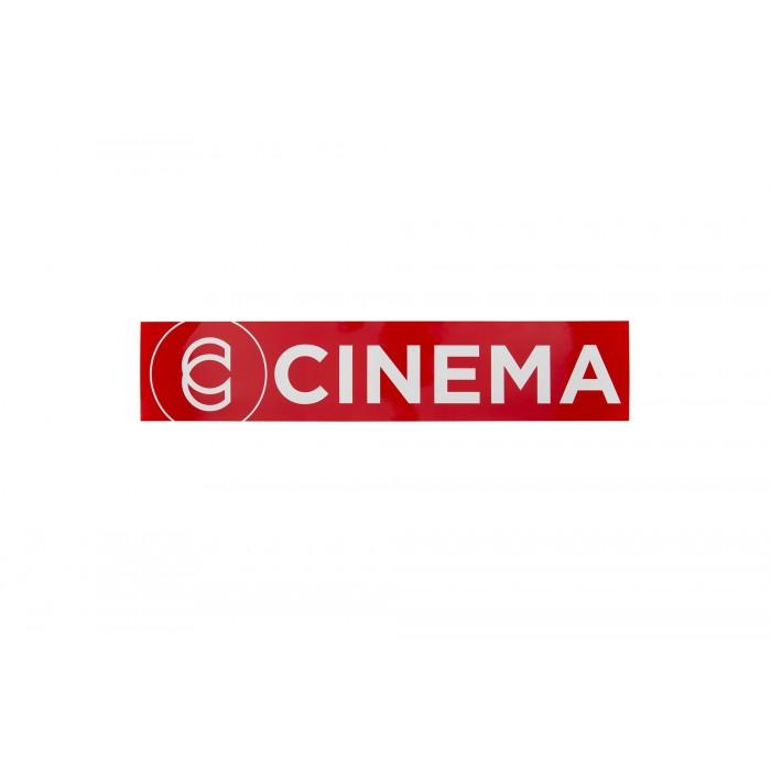 CINEMA RAMP STICKER