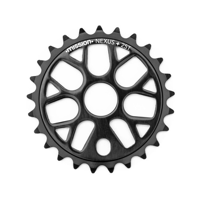 MISSION NEXUS SPROCKET BLACK