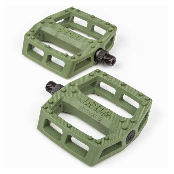 BSD SAFARI PEDALS GREEN